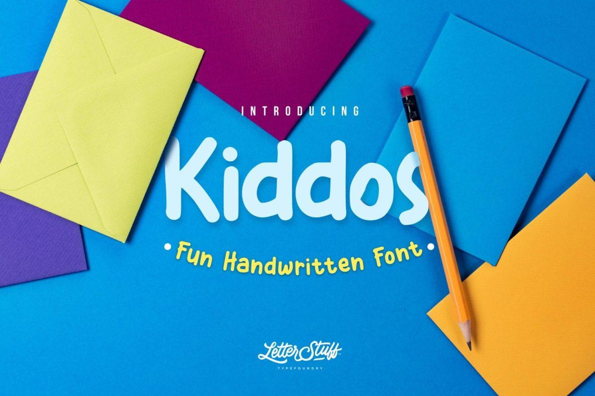 Kiddos Handwritting Font in Handwriting Fonts