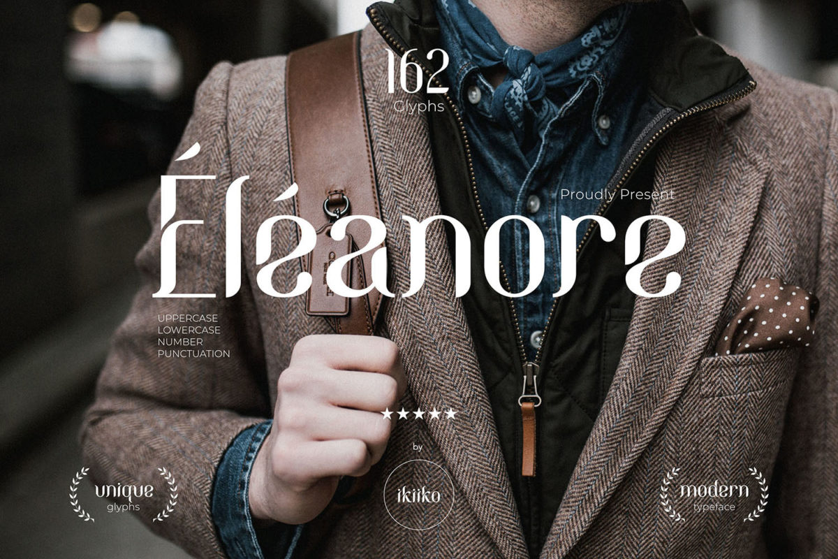 Eleanore Typeface in Decorative Fonts