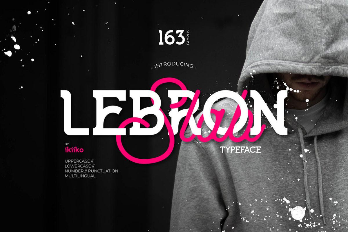 Lebron Slab Typeface in Slab Serif Fonts