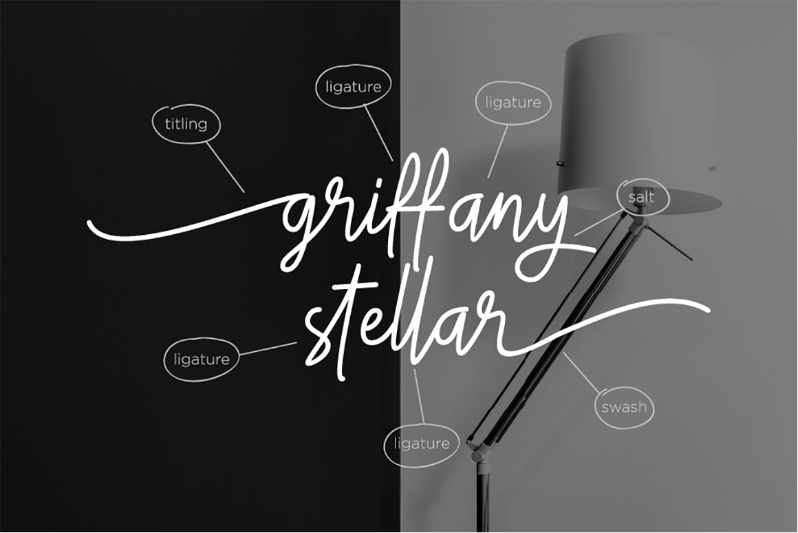 Gittany Signature - Stylish Script Font in Calligraphy Fonts
